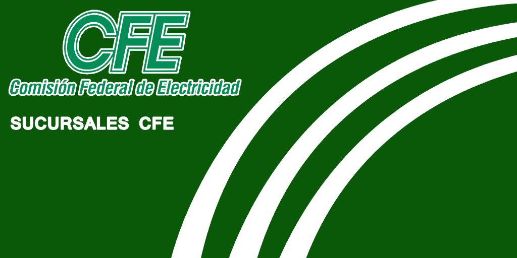 Sucursales CFE