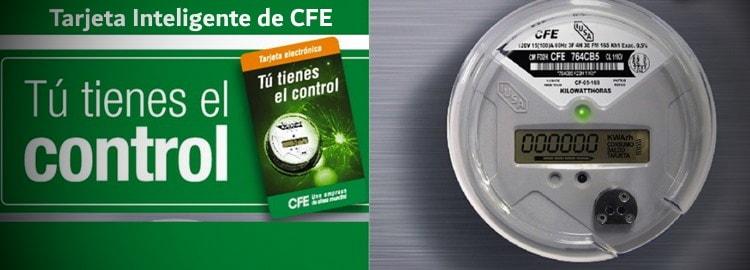 Tarjeta inteligente de CFE